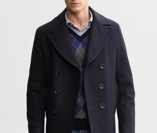 Another Item That You Could Spent A Ton Of Money On Is A Peacoat But Its Not Necessary And A Ton Is Obviously Subjective Banana Republic Does A Good