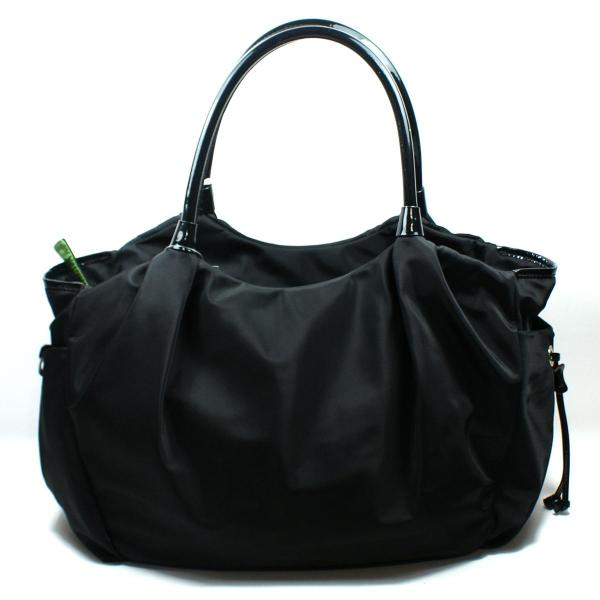 Kate Spade Stevie Baby Bag Basic Nylon Black Diaper #wkru1370 Wkru1370