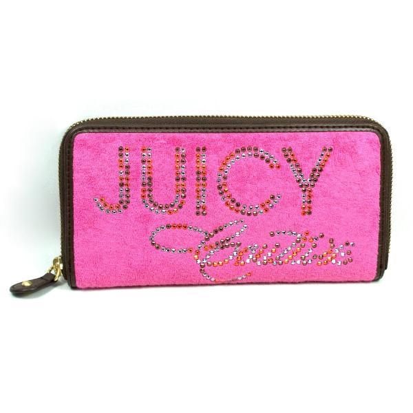 Juicy Couture Terry Zip Clutch Wallet #ysrus406