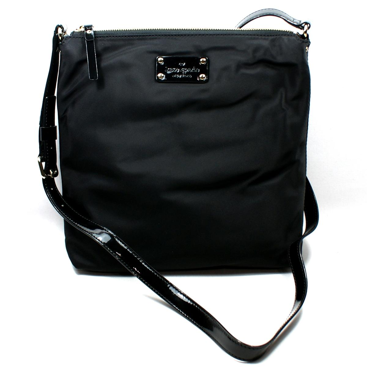 White Spade Black Diaper Kate And Bag