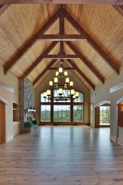 vaulted ceiling dining room ideas