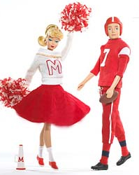 Campus Spirit Vintage Barbie Reproduction