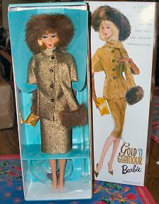 Gold 'N Glamour Vintage Barbie Reproduction