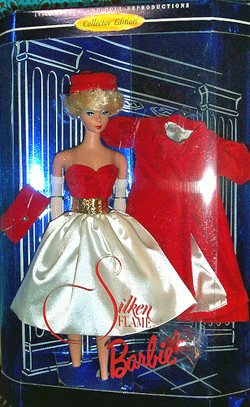 Silken Flame Vintage Barbie Doll Reproduction
