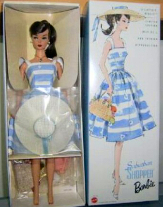 Suburban Shopper Vintage Barbie Reproduction