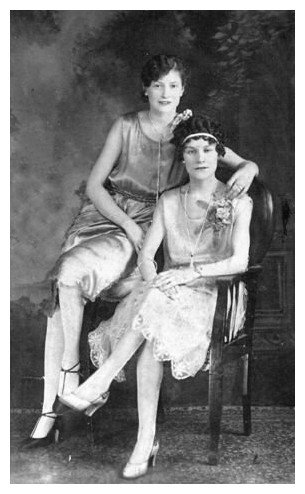TYPICAL flappers- they started getting MANLY EW!