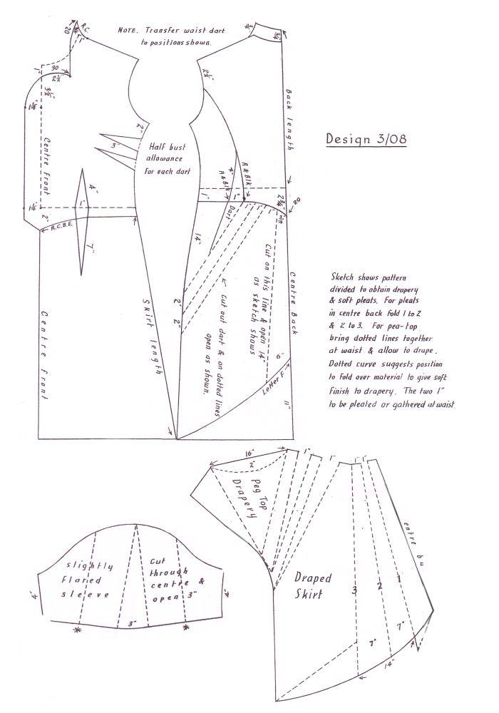 DRESS CUTTING PATTERNS « Free Patterns