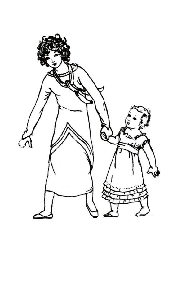 Children in Costume History 1800 to 1810 Fashions for