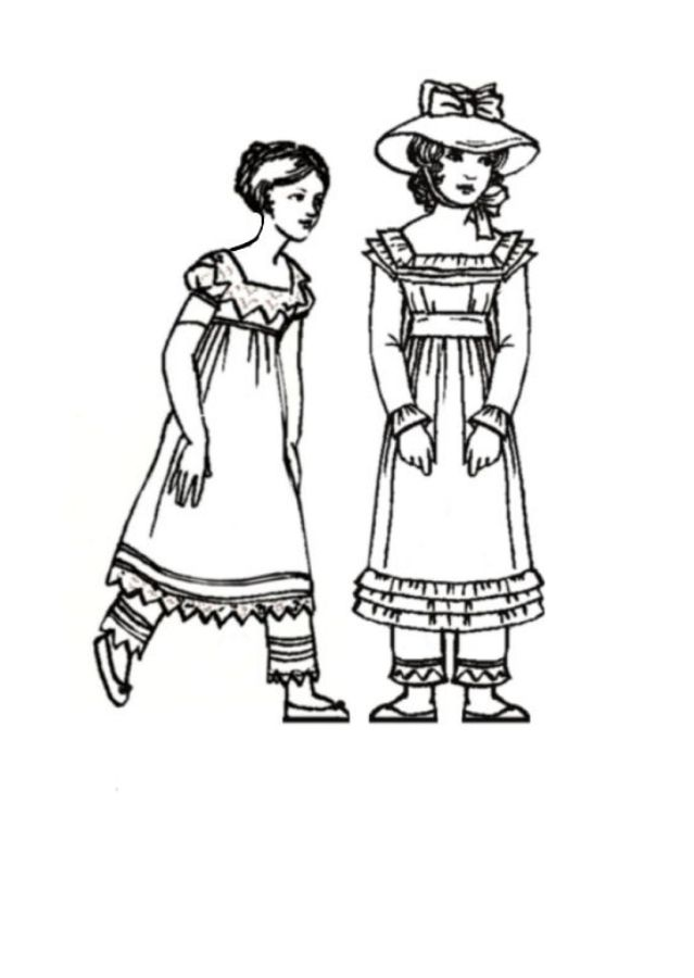 Children in Costume History 1820 to 1830 Fashions for