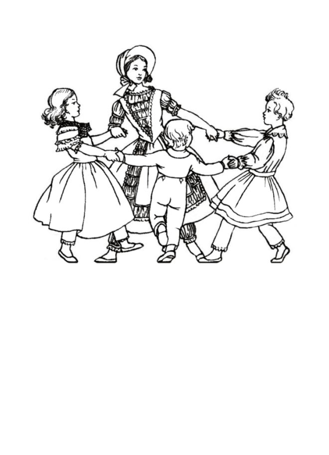 Victorian Dresses Coloring Pages