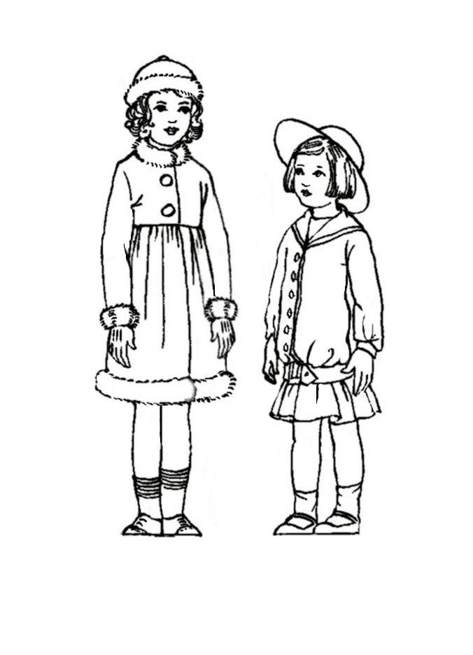 Children in Costume History 1910-1920 Edwardian Fashions
