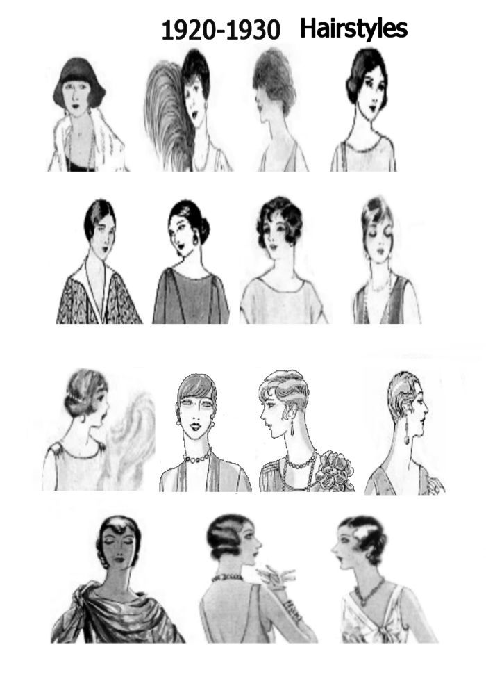 1920s Pictures Hats 20s Hair Style Fashions