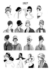 1920s hats 20s hair style