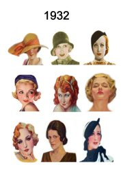 hat and hair styles fashion history
