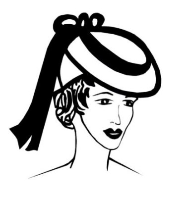 1930s Hat Fashion History. Hairstyle Pictures Pert Hats