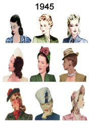 1940-1945 of hairstyles