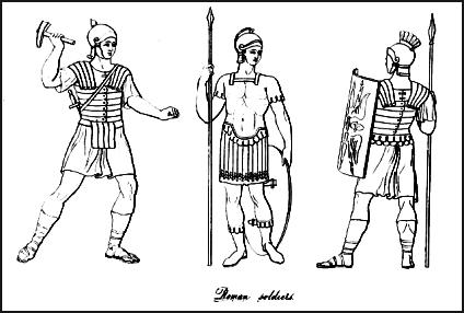 Styles of Roman Battle Dress for War in Costume History