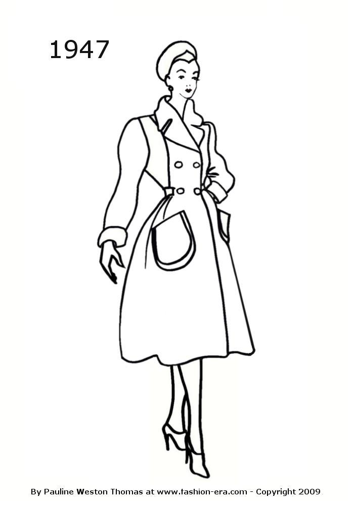 Woman Silhouette Fashion