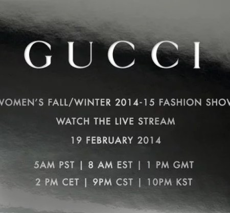 Gucci Women Fashion Show Fashion Week Milano