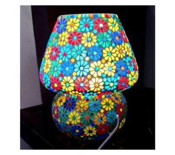 Tiffany Stone - GlassTable Lamp-a