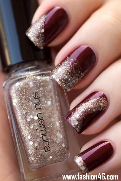 Then White Black Or Brown Faux Fur Is Glued With Super Shiney High Gloss Top Coat Check Out Some Of These Abstract Nail Art