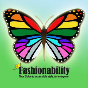 Fashionability colorful butterfly iTunes logo