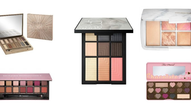 Fashionability's Top 5 Christmas Makeup Palettes Gift Guide 2016