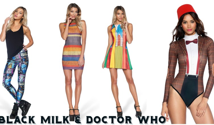 7e673659e65 We are super crushing on these amazing new Doctor Who designs by Black Milk  Clothing. We love the variety of styles, and the fact that some of the  Doctors ...