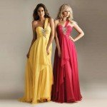 2015 Chiffon Dress Models