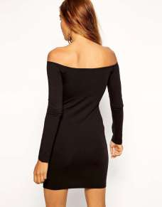 2015 Dress Models - Black Back View
