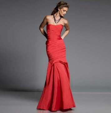 2015 Fishtail Dress Models