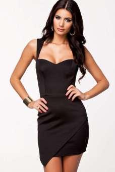 2015 Short Dress - Black