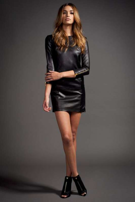 2015 Leather Dress