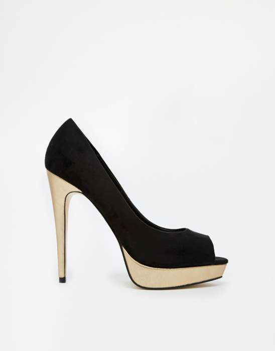 Black High Heel Shoes 2015