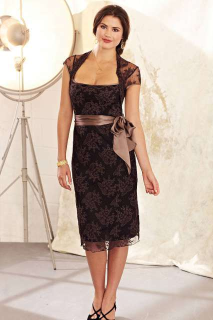 Lace Dress 2015 - Black
