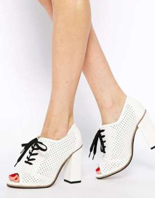 White High Heel Shoes 2015