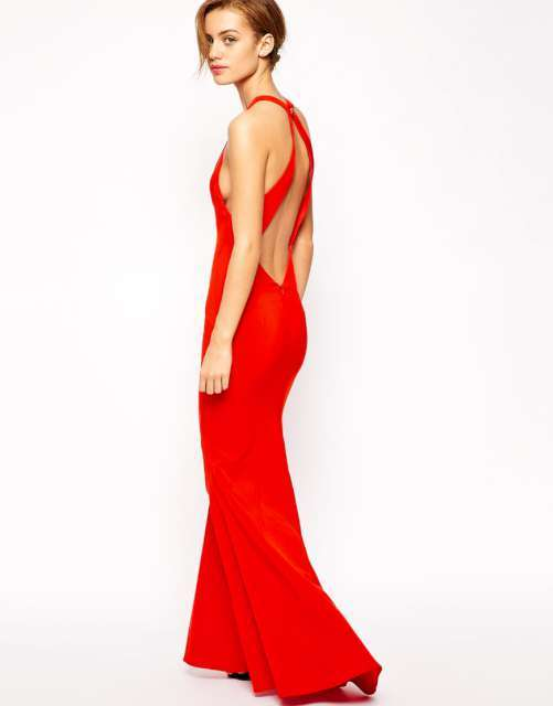 2015 Dress Models - Red