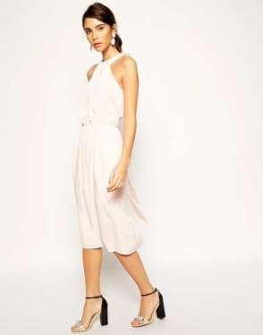 2015 Dress Models - White