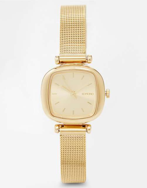 Komono Gold Metal Moneypenny Watch