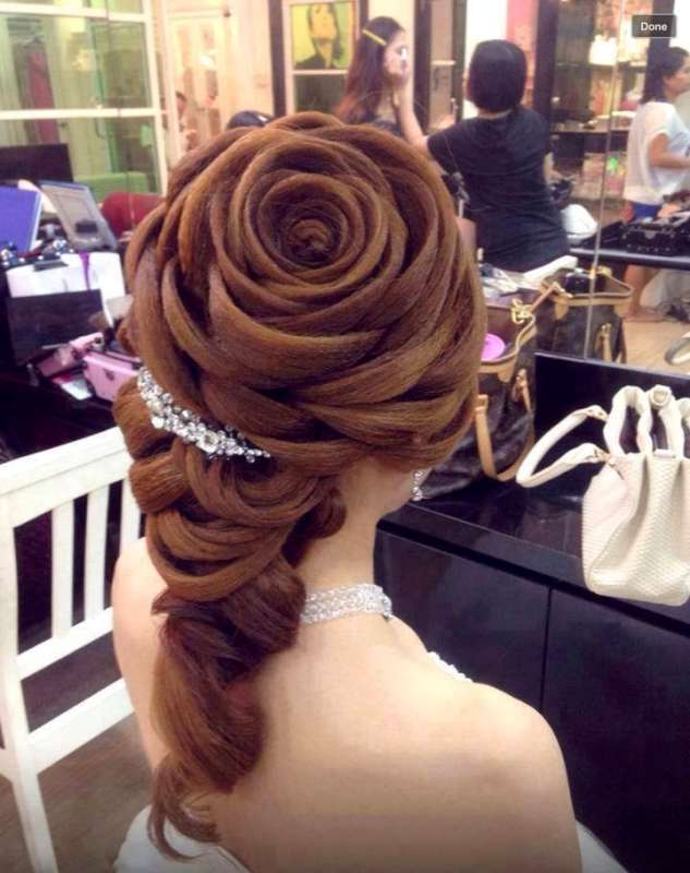 Wedding Extravagant Hairstyles