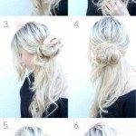 Easy Updo Hairstyles 2015