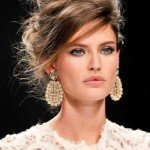Messy Updo Hairstyles 2015