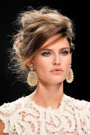 messy updo hairstyles 2015 fashion