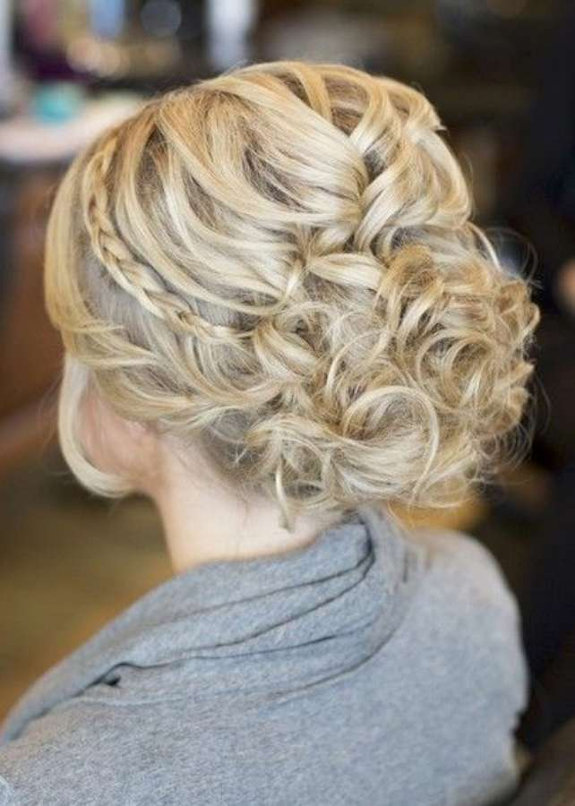 Bridal Updo Hairstyles 2015
