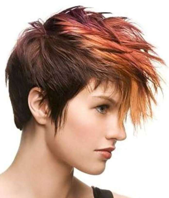 Short Hairstyles And Colors - 9
