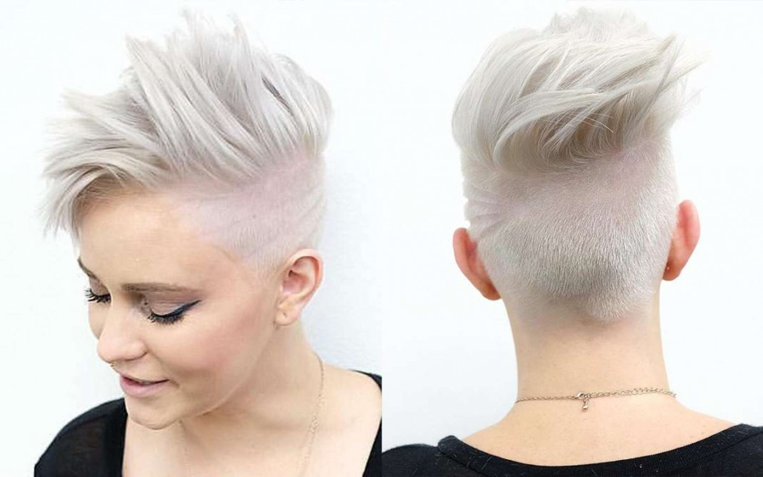 Short Hairstyles White Hair