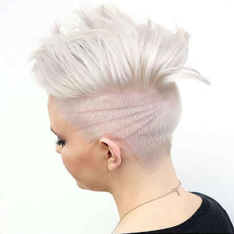 Short Hairstyles White Hair - 2