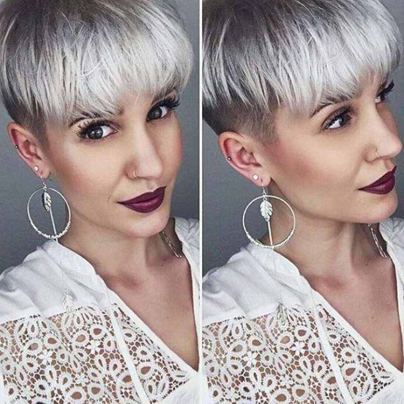 Short Hairstyle Grey 2016 - 2