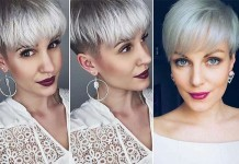 Short Hairstyle Grey 2016