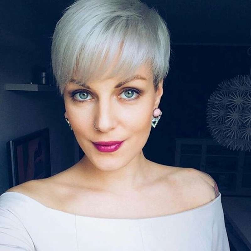 Short Hairstyle Grey 2016 - 3